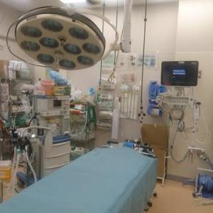 病院も視察してきました。