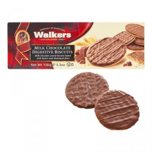 Walkersのミルクチョコダイジェスティブビスケット