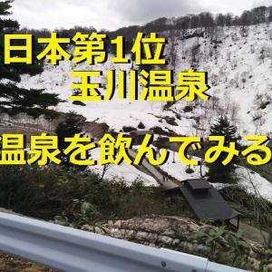 日本第1位玉川温泉_温泉を飲んでみる_秋田県_東北一周