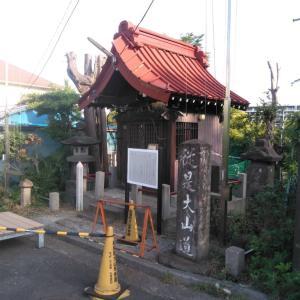 大山街道Walking・柏尾通り(1)東海道から枝分かれ