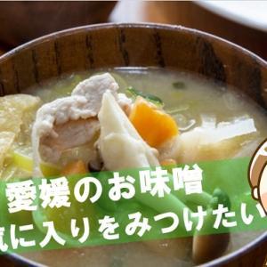 愛媛の味噌からお気に入りをみつけたい!