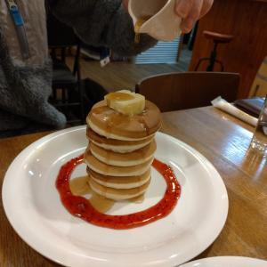 大宰府天満宮近くのライダーズカフェでパンケーキ! 「サンボカフェSAMBO cafe」