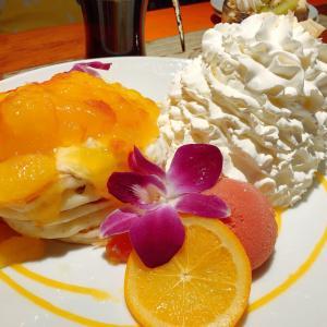 「コナズ珈琲那珂川」南国気分でボリュームパンケーキを食べよう