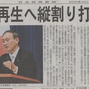 菅首相にコロナ克服と経済成長を期待