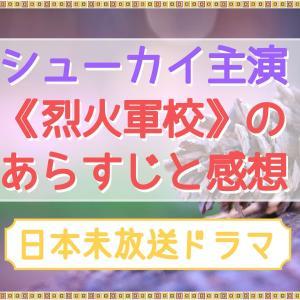 シューカイの《烈火軍校》を中国語字幕で視聴してみた!あらすじ感想あり。かなり面白かったです!