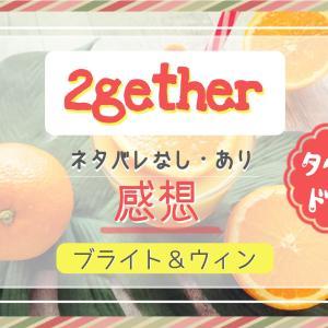 《2gether》感想!ネタバレなしあり両バージョン。イケメン二人のピュアでドキドキな恋物語。脇役も魅力的なBLドラマです!