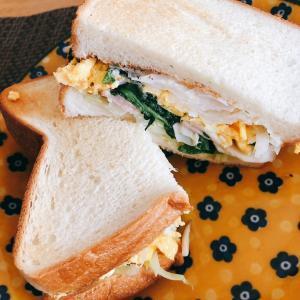 ハマりすぎているサンドイッチ