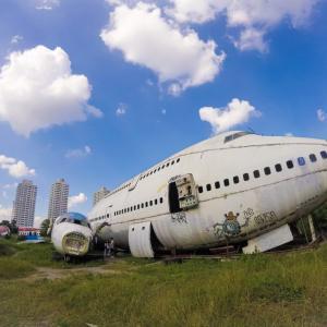 【バンコクの穴場観光スポット】飛行機の墓場のアクセス方法