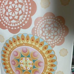 曼荼羅の包装紙