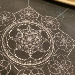 雪の曼荼羅