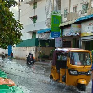 本格的に雨季が始まりました