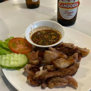 カンボジアのタイ料理店