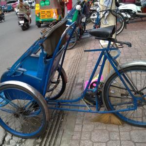 人力車、自転車バージョン