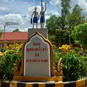 カンボジアの休み中の小学校へ行ってみた