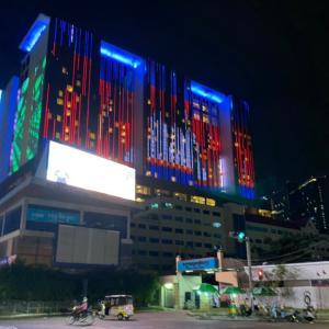 プノンペン1目立つホテル