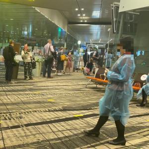 2021年4月中旬チャンギ空港の様子