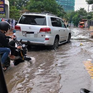 雨季の慣れ