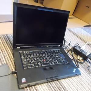2019年8月に「ThinkPad W500」の改造作業を始めましたが・・・orz