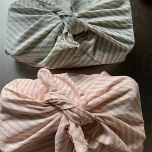 《あずま袋》サイズぴったりの簡単手作りお弁当袋《つつんでかわいい》