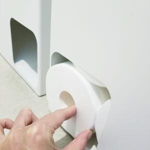 スリム&おしゃれ&便利!トイレットペーパー収納は山崎実業のストッカーがおすすめ!