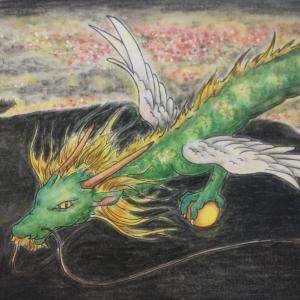 夜の翼龍と、次回守護龍オーダー募集について
