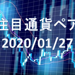 【鹿子木式FXでらくらくスイング】1/27週の注目通貨ペア