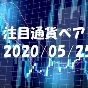 【鹿子木式FXでらくらくスイング】5/25週の注目通貨ペア
