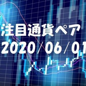 【鹿子木式FXでらくらくスイング】6/1週の注目通貨ペア