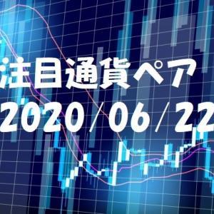 【鹿子木式FXでらくらくスイング】6/22週の注目通貨ペア
