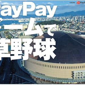 PayPayドームで草野球!10~12月受付開始