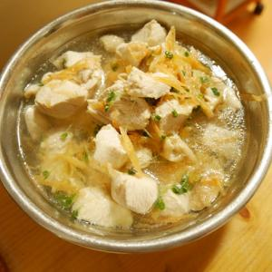 【犬日記】初心に帰って犬スープ