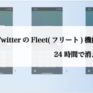 TwitterのFleet(フリート)機能の使い方 24時間で消える新機能