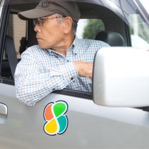 高齢ドライバーが後付け安全装置を体験