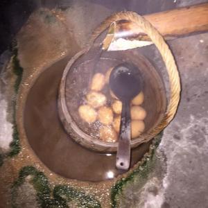 湯布院温泉の隠れ家旅館で食べる地元の幸