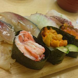 天神橋筋商店街にある地元に愛される寿司屋でランチ