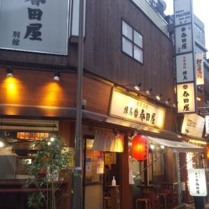 大衆的な雰囲気の居酒屋でちょい飲み(練馬)