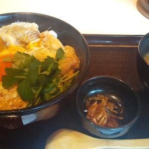 ダブル卵の親子丼ランチ(西新宿)