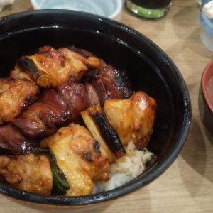 焼き鳥の人気店で昼飲みランチ(渋谷)