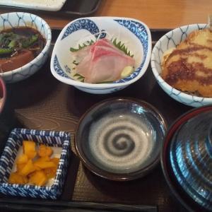 魚居酒屋で食べる海鮮ランチ(西新宿)