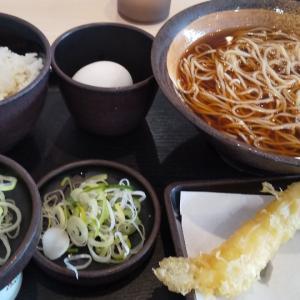 納豆朝食にサービス無料券でえび天(戸田)