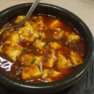 本格的な麻婆豆腐ランチで昼飲み(九段下)
