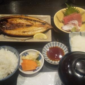魚料理の人気居酒屋で昼飲みランチ(赤坂見附)