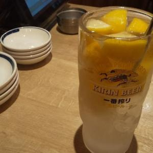 天神橋筋商店街の餃子居酒屋でちょい飲み
