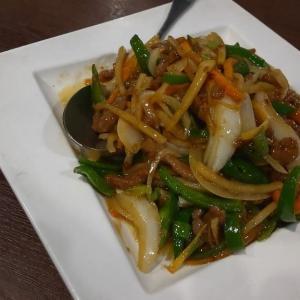 リーズナブルな中華料理店でディナー
