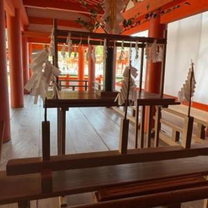 広島•宮島の旅13(朝の厳島神社)