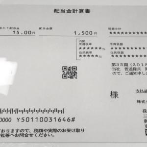 配当金報告[4668:明光ネットワークジャパン]