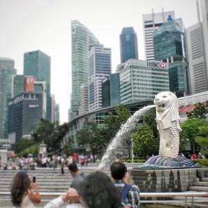 大都会シンガポールの幸運の噴水の実力はいかに!