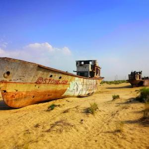 圧巻・船の墓場!カラカルパクスタン共和国の失われた湖!