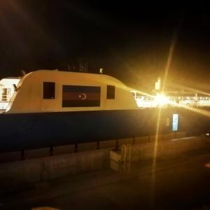 カスピ海を渡る船に乗り込め!いざアゼルバイジャンへ!