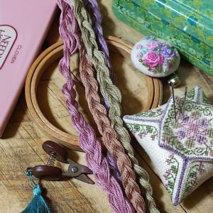 刺繍ビスコーニュの作り方♡